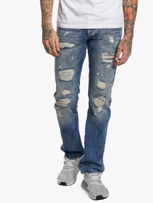 Red Bridge Straight Fit Jeans Stinson blau