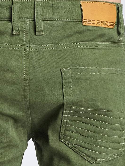 Red Bridge Straight Fit Jeans Sochumi grün