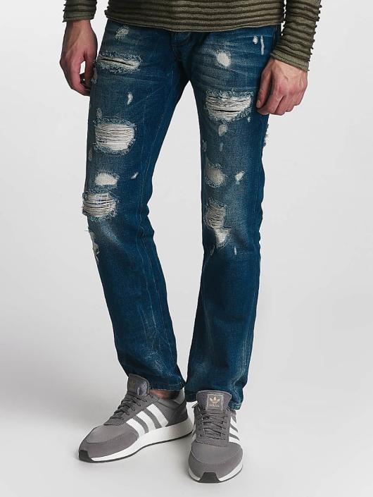 Red Bridge Straight Fit Jeans Hurricane modrý