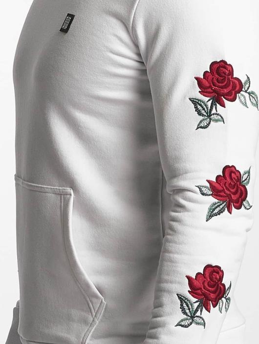 Red Bridge Sweat & Pull Red Rose Flower blanc