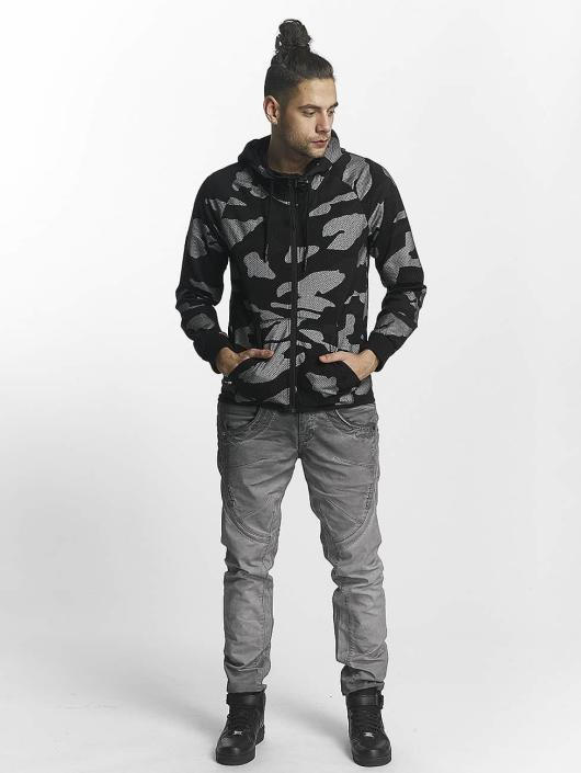 Red Bridge Sweatvest Camo zwart