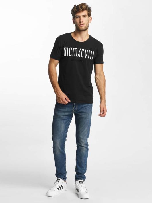 Red Bridge T-Shirt MCMXCIII Modern Characters black