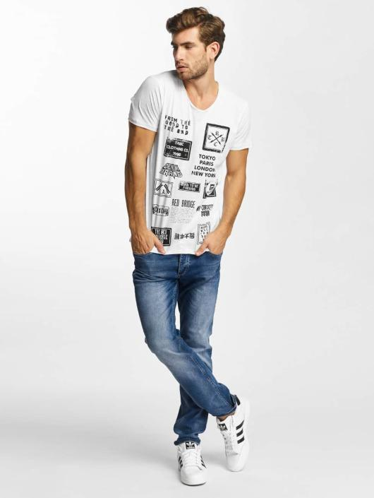 Red Bridge T-Shirt From Good To Bad blanc
