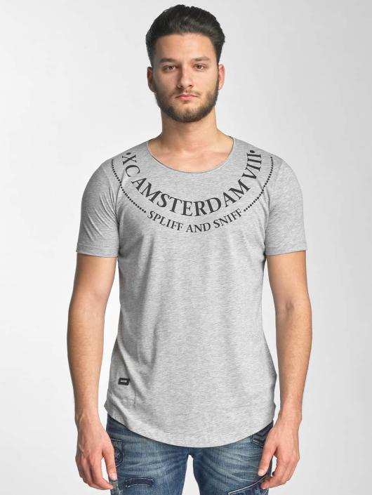 Red Bridge T-Shirt Amsterdam grau
