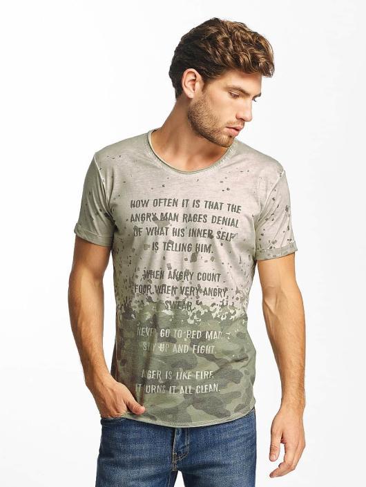 Red Bridge T-Shirt Stay Up grau