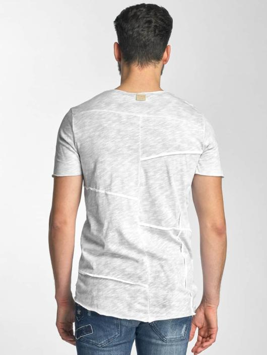 Red Bridge T-Shirt Vintage Patchwork gray
