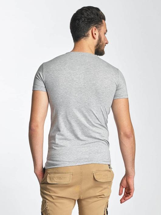 Red Bridge T-Shirt Fuck You gray
