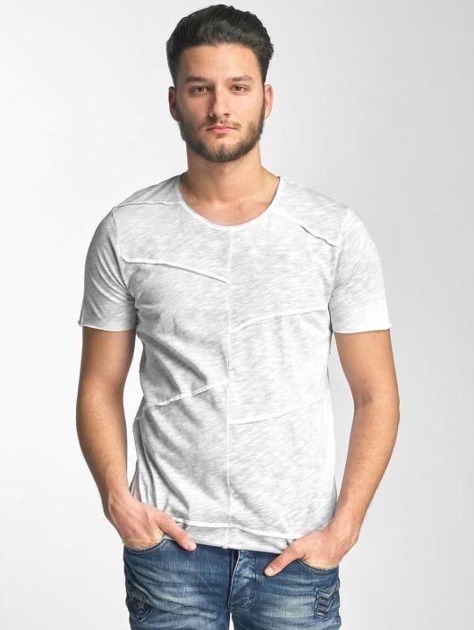 Red Bridge T-Shirt Vintage Patchwork grey