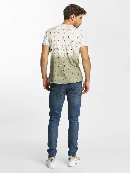 Red Bridge T-Shirt Allover Skull khaki
