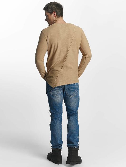 Red Bridge T-Shirt manches longues Paul brun