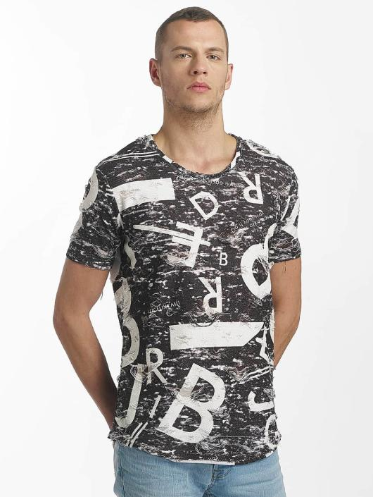 Red Bridge T-Shirt Letters and Numbers noir