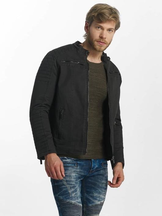 Red Bridge Winterjacke RB Biker schwarz