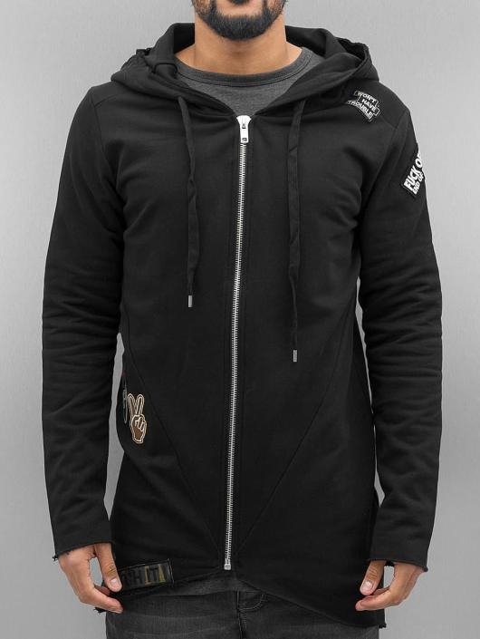 Red Bridge Zip Hoodie Trouble black