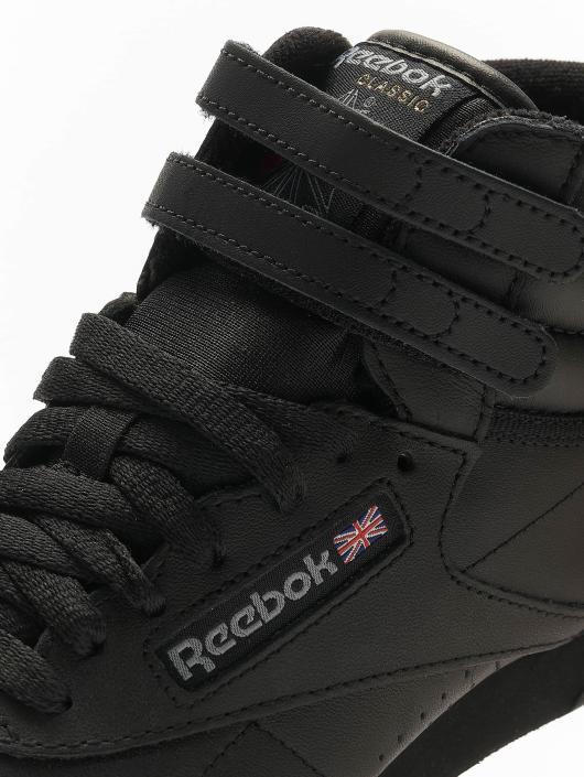 Reebok Baskets Freestyle Hi Basketball Shoes noir