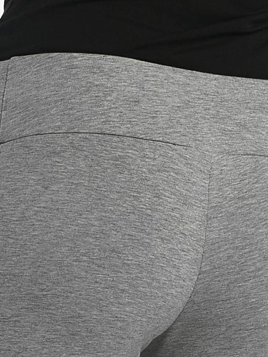 Reebok Leggings/Treggings F Logo grå