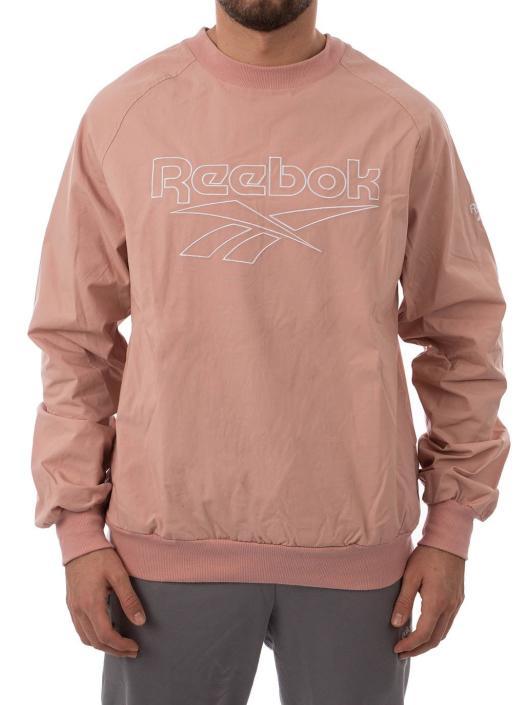 Reebok Pulóvre Lf Woven pink