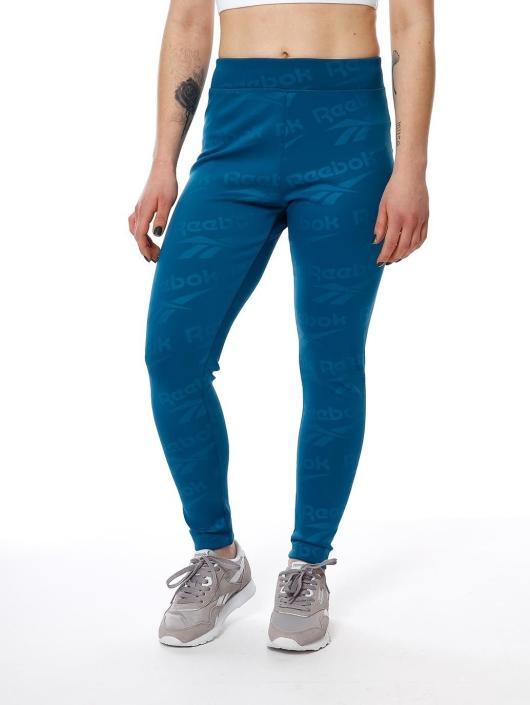 Reebok Spodnie do joggingu  niebieski