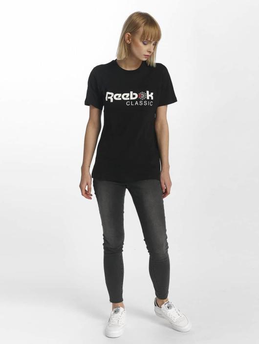 Reebok T-Shirty F Classic czarny