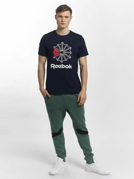 Reebok T-skjorter F GR blå