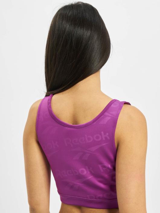 Reebok Top DC Fitness Crop violet