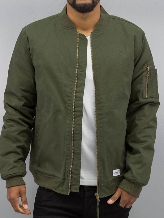 huge discount 2ac8a 0263e Reell Jeans Padded Flight Jacket Olive