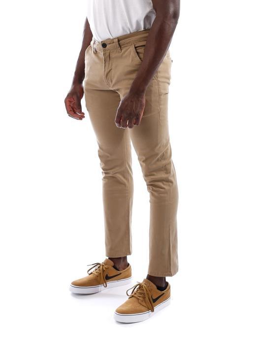 Reell Jeans Cargo Nohavice  béžová