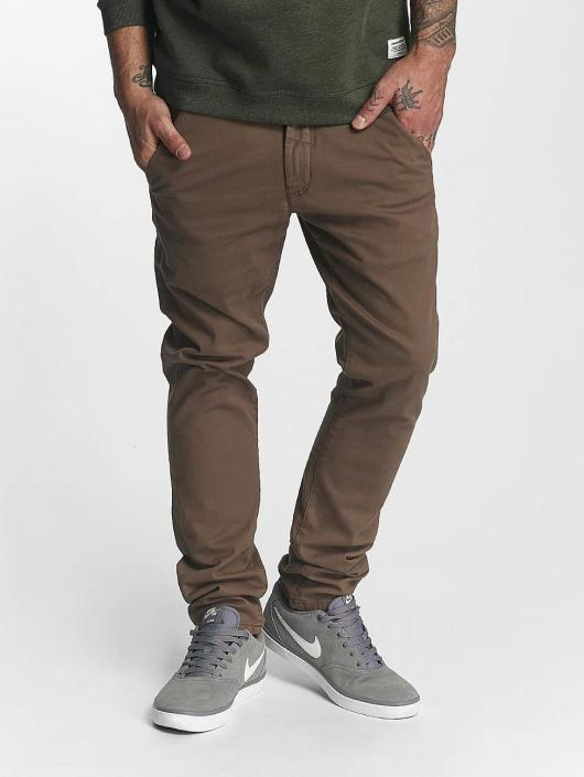 Reell Jeans Cargo Nohavice Flex Tapered hnedá