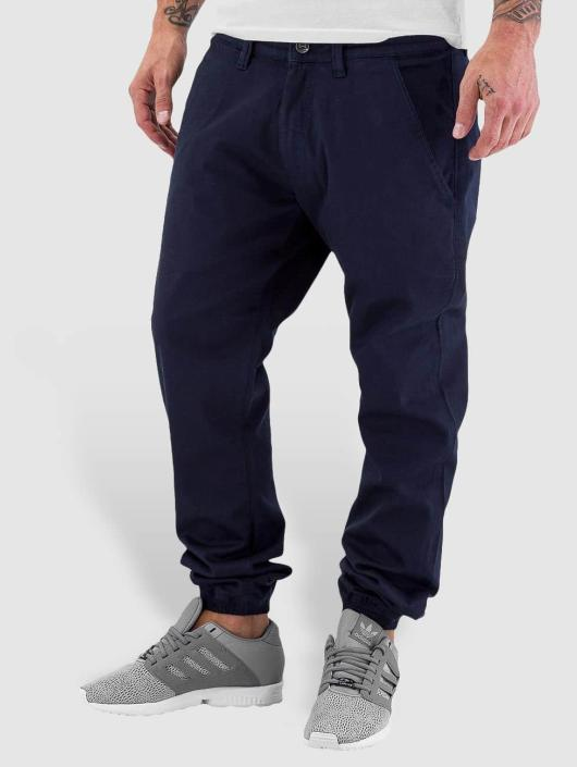 Reell Jeans Cargo Nohavice Jogger modrá