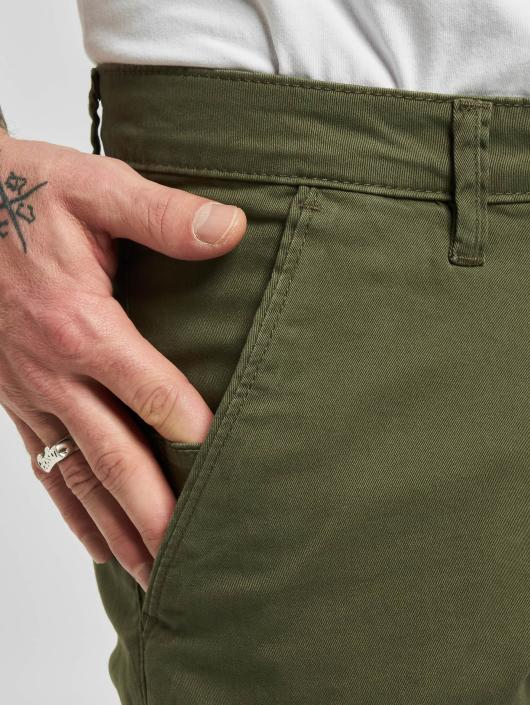 Reell Jeans Cargo Nohavice Flex Tapered olivová