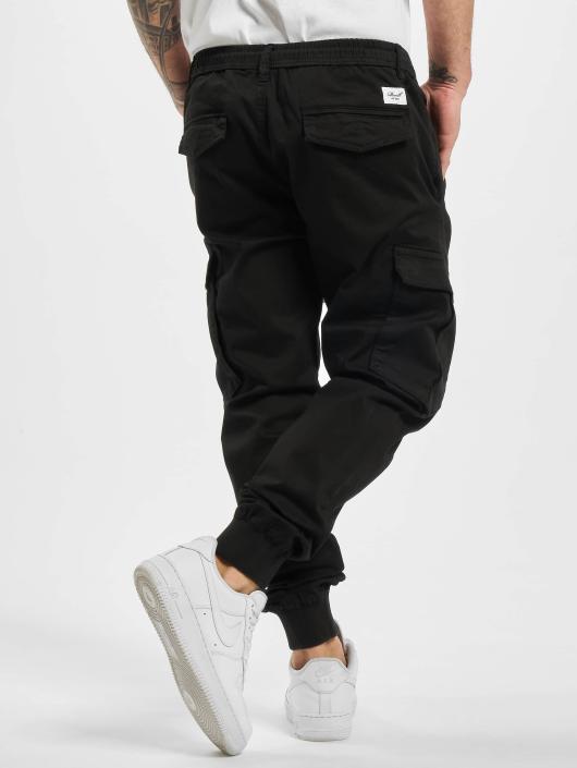 Reell Jeans Pantalon cargo Reflex Rib noir