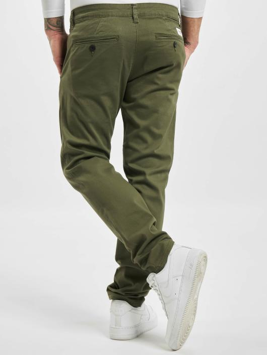 Reell Jeans Pantalon chino Flex Tapered olive