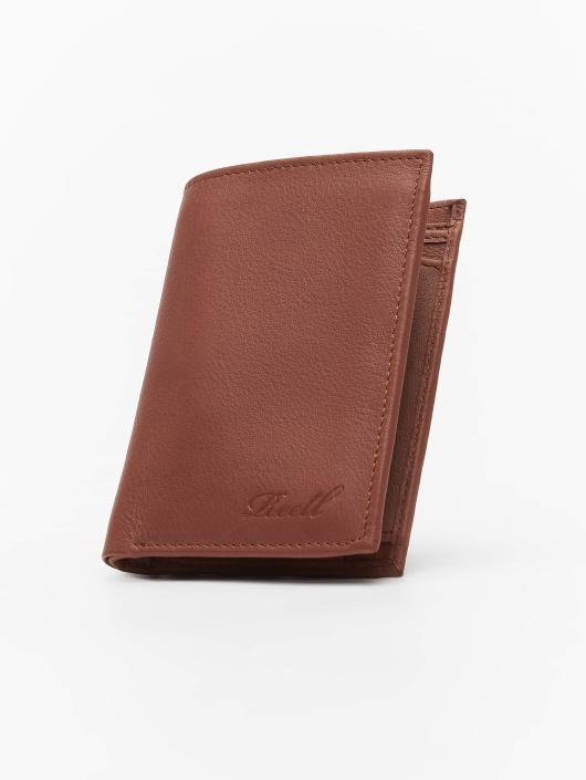 Reell Jeans Peňaženky Trifold Leather hnedá