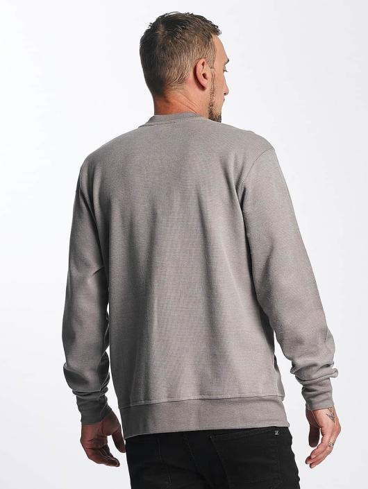 Reell Jeans Pullover Stitch Crewneck grau