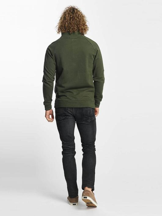 Reell Jeans Pullover Track Half Zip olive