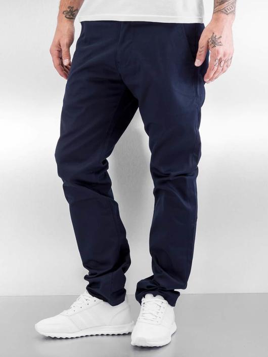 Reell Jeans Spodnie wizytowe Straight Flex niebieski