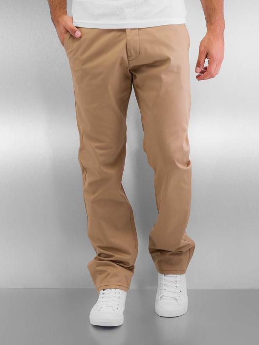 Reell Jeans Stoffbukser Straight Flex beige
