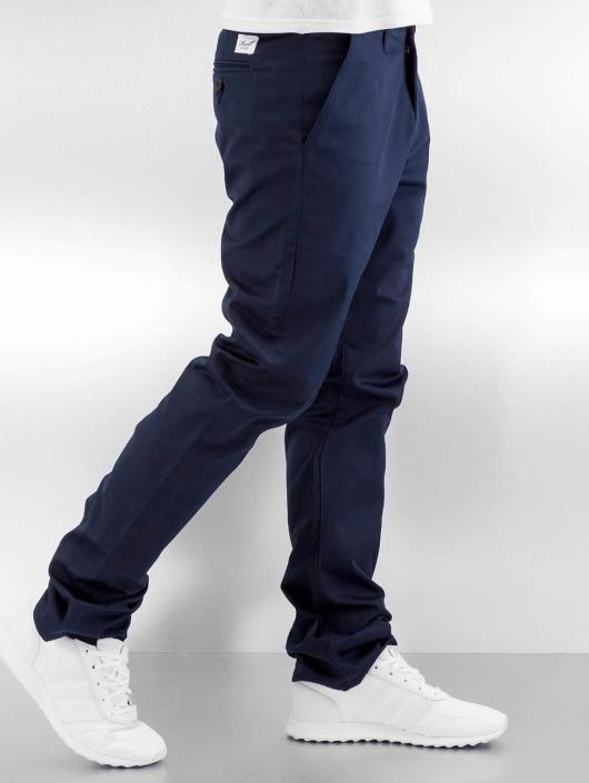 Reell Jeans Stoffbukser Straight Flex blå