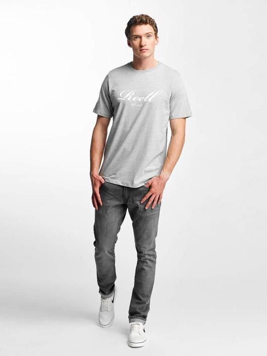 Reell Jeans T-paidat Big Script harmaa