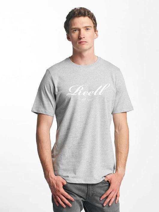 Reell Jeans t-shirt Big Script grijs