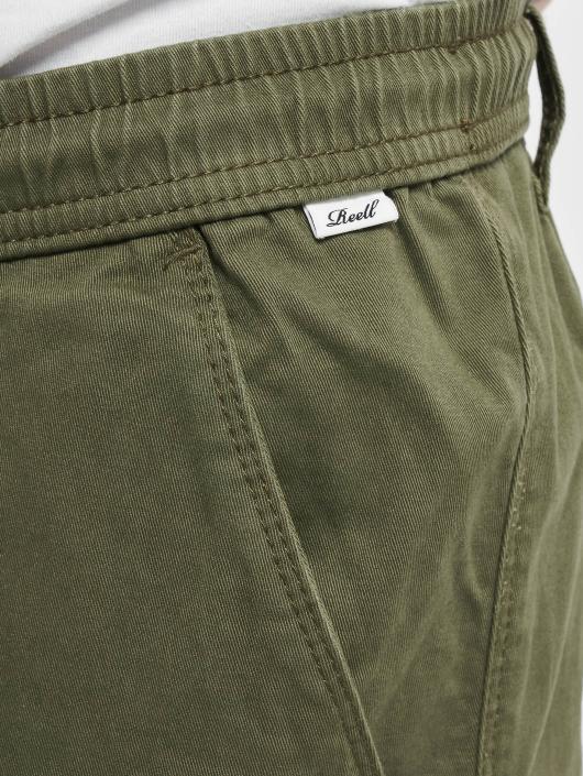Reell Jeans tepláky Reflex olivová