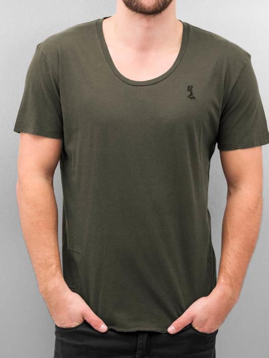 Religion T-Shirt Plain grau