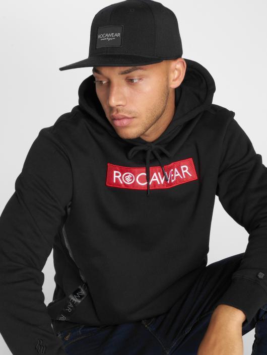 Rocawear Bluzy z kapturem Roca H czarny