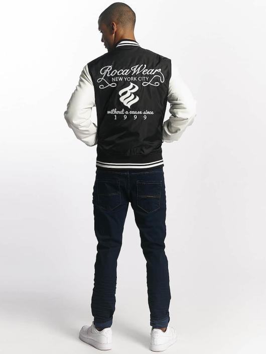 Rocawear College Jacke College Jacket schwarz