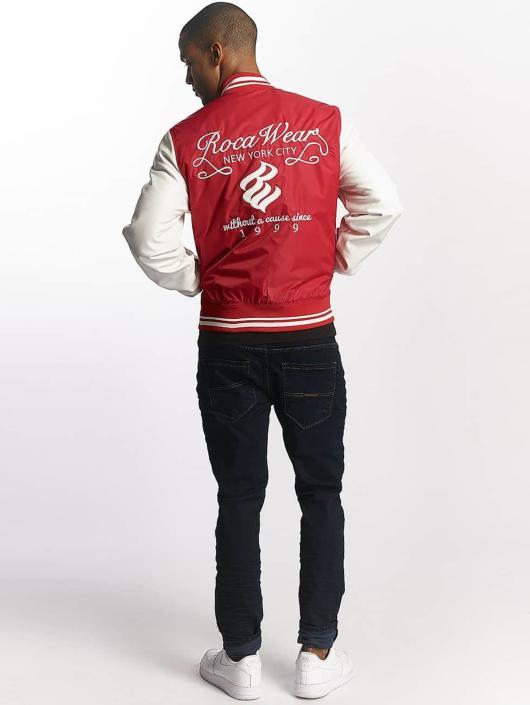 Rocawear Collegetakit College Jacket punainen