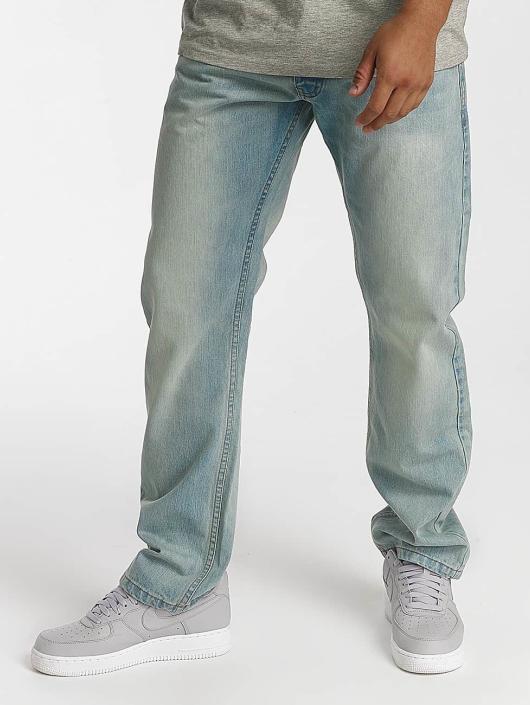 Rocawear Dżinsy straight fit Tony Fit niebieski