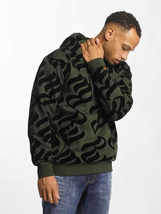Rocawear Hoodie Retro Velour olive