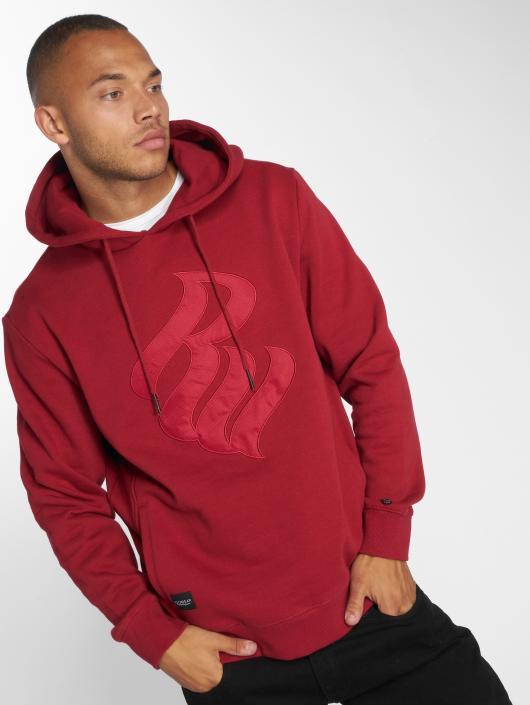 Rocawear Hoodie Logo Stich red