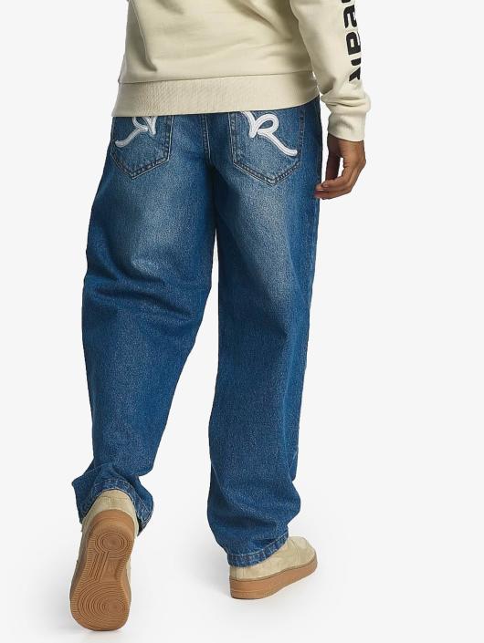 Rocawear Nohavice Baggy Baggy Fit modrá