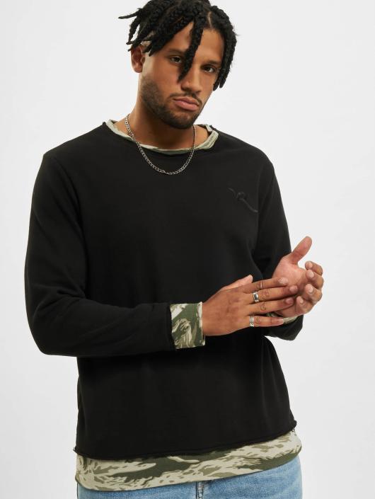 Rocawear Pullover Sweatshirt schwarz