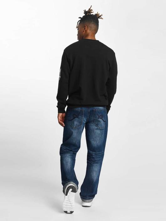 Rocawear Pullover Retro Sport Crew Neck schwarz